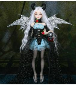 1/4 BJD Doll Ria With wings and horn -Free Face Make UP+Eyes