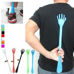 "2 Massager Back Scratcher Shoe Horn 20"" Plastic Backscratche"