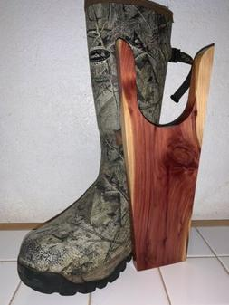 EASTERN RED CEDAR SHOE HORN/BOOT JACK/ HAND MADE. LARGE FITS