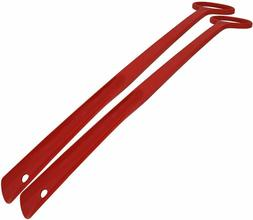 FootMatters Extra Long Handle Durable Easy-grip Shoe Horn