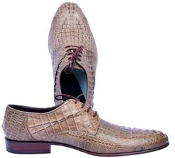 Infallible Cameo Horn Back Derby Style Genuine Crocodile Lea