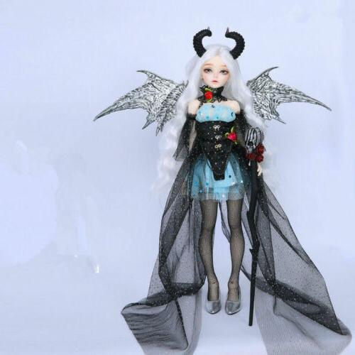 1/4 BJD With and horn -Free Make