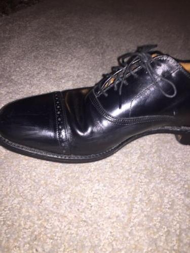 ALLEN Shoe~BYRON~Black~Mens Size 1/2~Shoe Horn