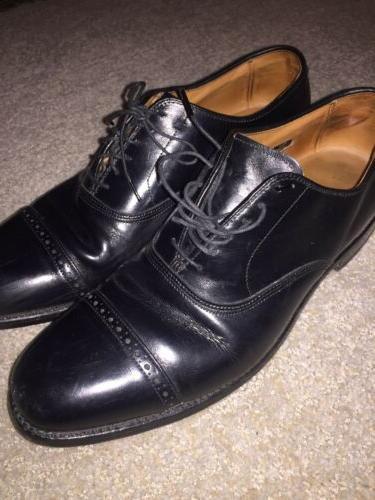 ALLEN Shoe~BYRON~Black~Mens Shoes 1/2~Shoe Horn
