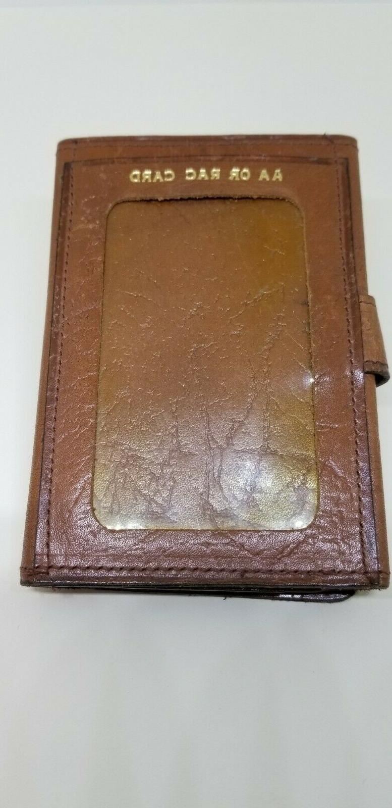 English Vintage Men's Wallet Horn/Bottle Opener