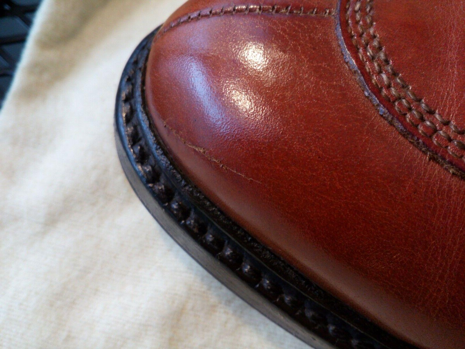 Allen Edmonds 9 Lace Ups w.flannel shoe &