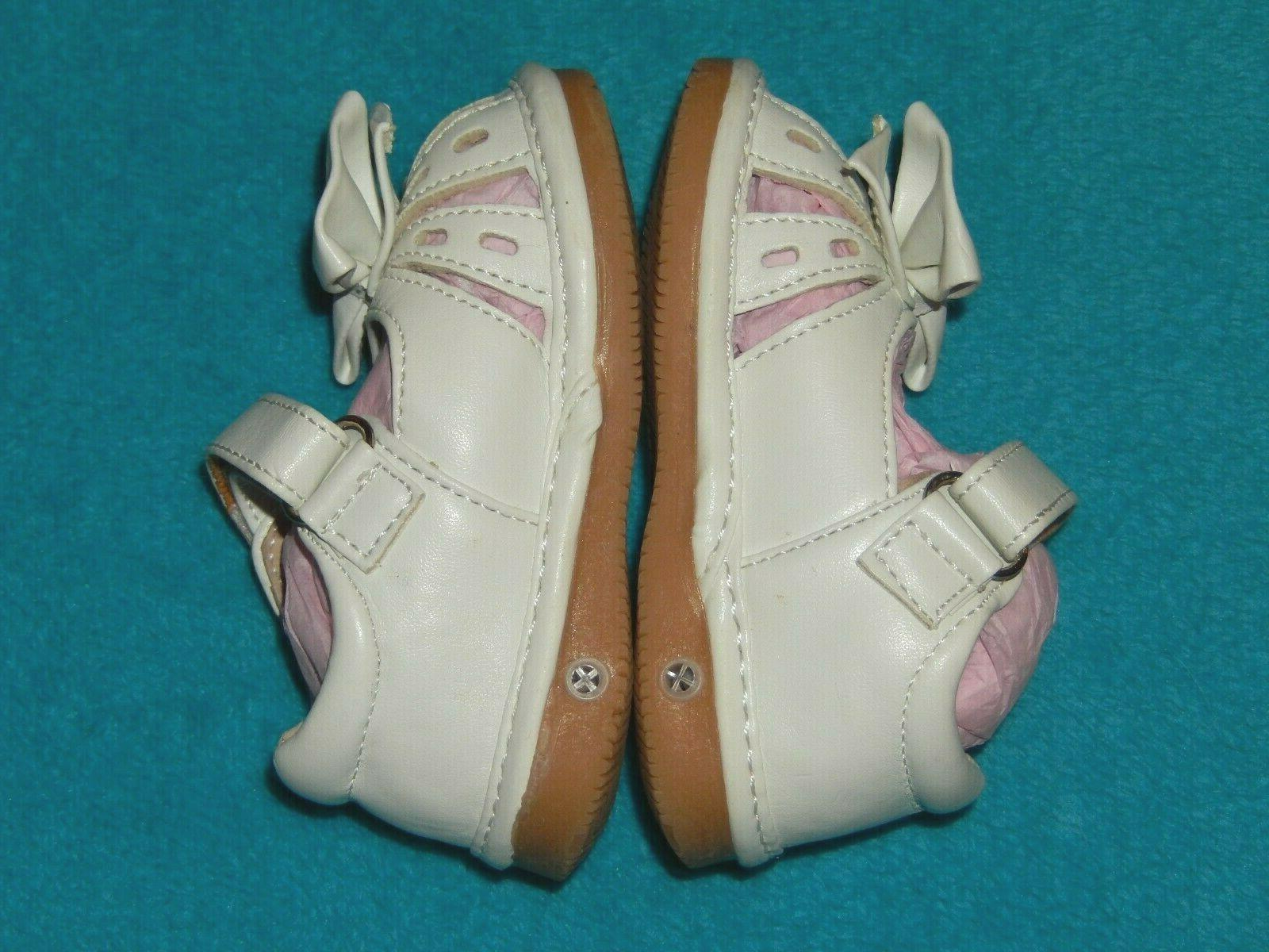 NEW Toddler WHITE SQUEAKY SHOES