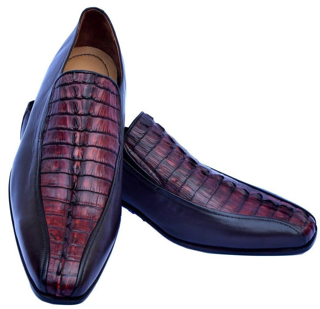 royal reddish brown horn back tail moccasin