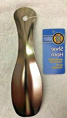 """Shoe Horn, 7.5"""" durable Metal Construction For All Shoes, Me"""