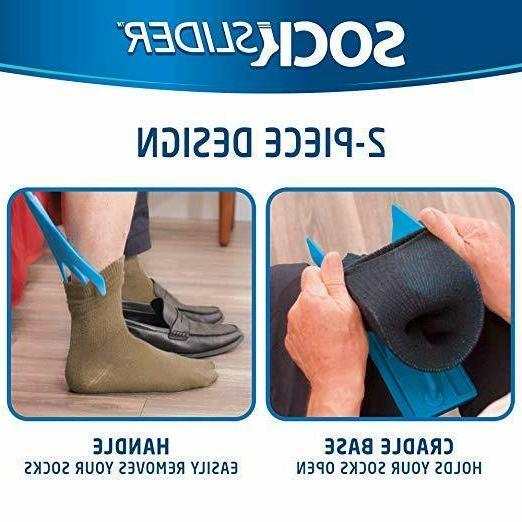 Sock Slider Easy Off Sock Shoe Horn No Bending