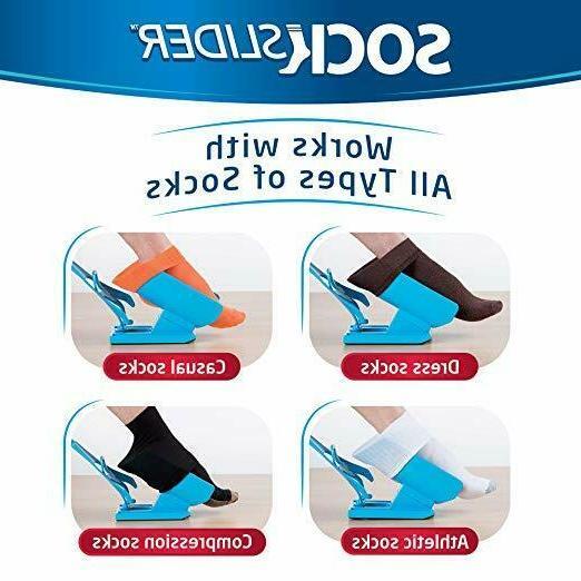Sock Easy Off Shoe Horn Pain No Bending