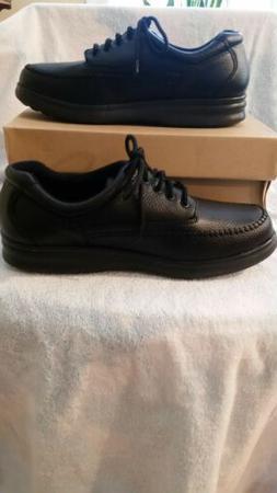 Bell Horn Mens Shoe FRANKLIN  Size 10 WIDE  Black Lace Up