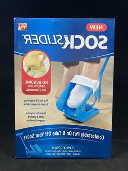 NEW Sock Slider Easy On & Off Kit Shoe Horn Medical For Limi