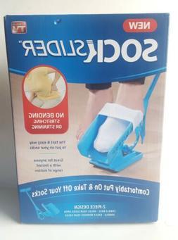 New Sock Slider - The Easy on, Easy Off Sock Aid Kit & Shoe