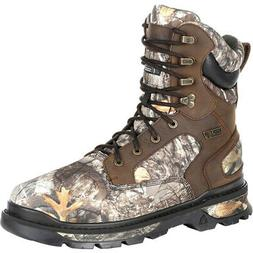 Rocky Rams Horn Boot Realtree Edge 1000g Size 12