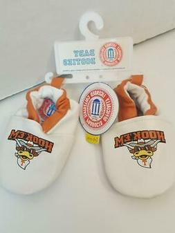 University Of Texas Hook 'em' Horns 0-6 Month Baby Shoes Off