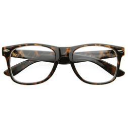Vintage Inspired Eyewear Original Geek Nerd Clear Lens Wayfa